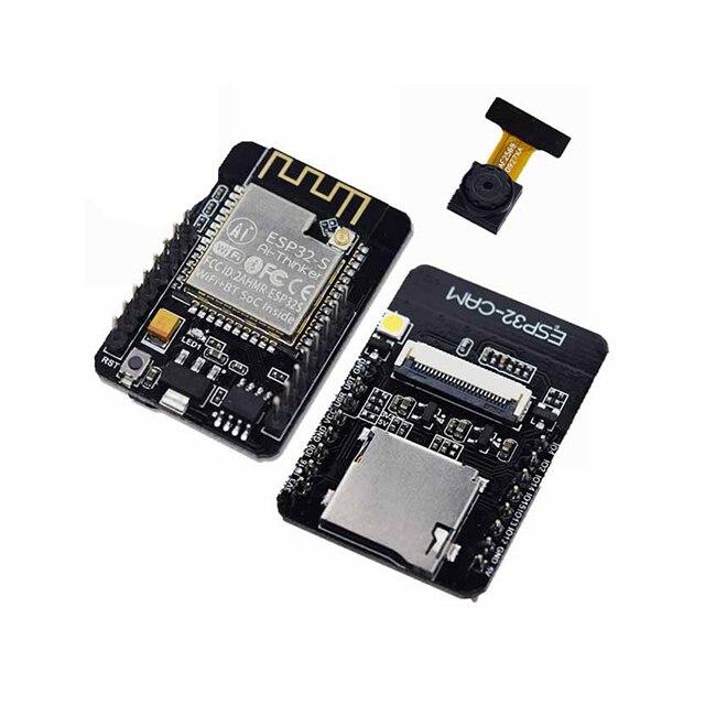 A18-- ESP32-CAM WiFi + For Bluetooth Module Camera Module Development Board ESP32 with Camera Module OV2640 2MP For Arduino