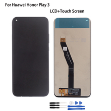 100% New Tested Original For Huawei honor play 3 honor play3 LCD DIsplay Touch Screen Digitizer Assembly Black 6.39 inch Screen