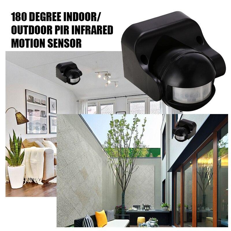 220V 300W Motion Sensor Motion Detektor Automatische Infrarot PIR Sensor Sicherheit 180 Grad Rotierenden Außen Beleuchtung Schalter