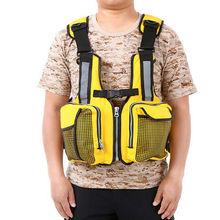Взрослый спасательный жилет с несколькими карманами спасательный жилет плавучий безопасный парусный спорт жилет