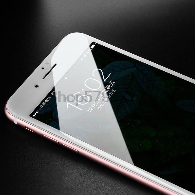 9D Safety Full Protection Glass For iPhone 7 8 6 6S 5 5S SE 2020 Tempered Screen Protector For iPhone 6 6S 7 8 Plus Glass Film 3