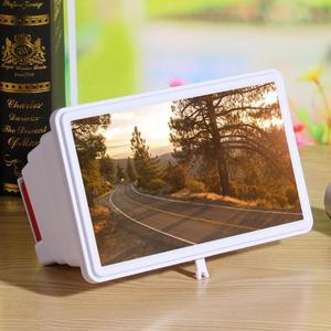 Image 3 - 14 携帯電話画面拡大鏡ブラケットスタンドスマートフォンデスクトップ増幅引伸映画ビデオディスプレイアンプ