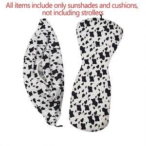Image 4 - Stroller Accessories for Babyzen Yoyo 165 Yoya Sun Shade Cover +Seat Infant Pram Liner Cushion Pad Buggies Sunshade Canopy Hood
