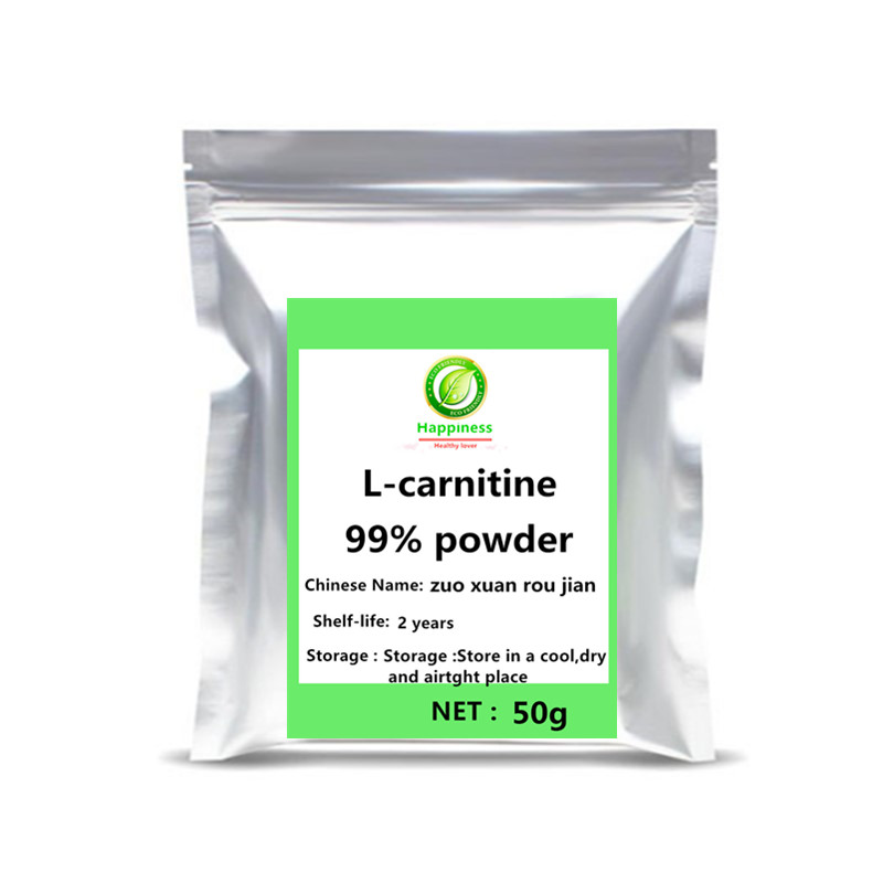Hot sale best price L-carnitine powder 1pc Nutrition festival top supplement body glitter Help build muscle sports free shipping image