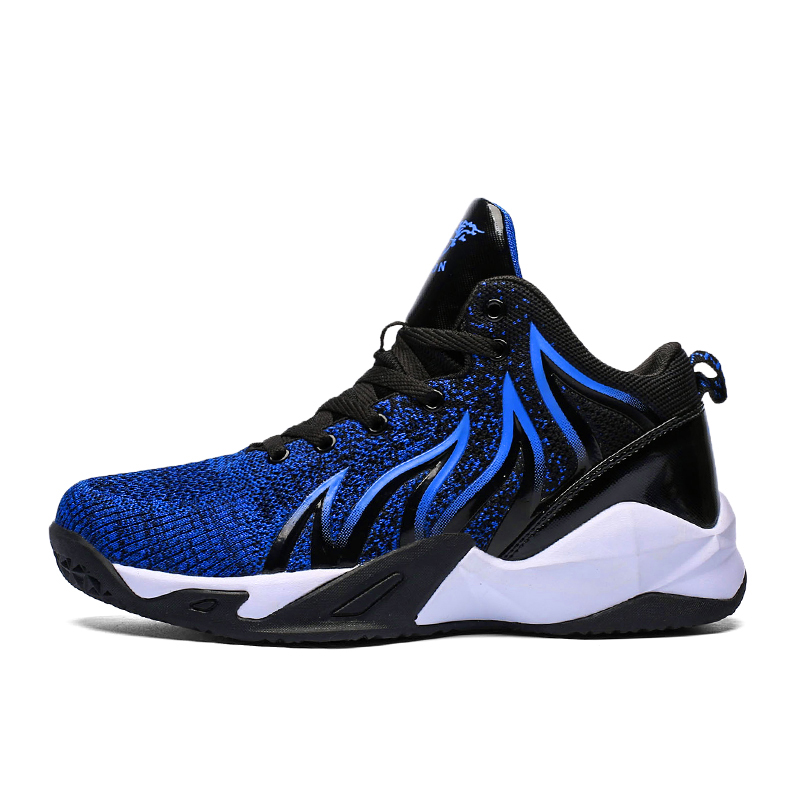 High-top Summer Basketball Shoes Men's Cushioning Light Basketball Sneakers Male Zapatos Hombre Breathable Outdoor Sports Shoes