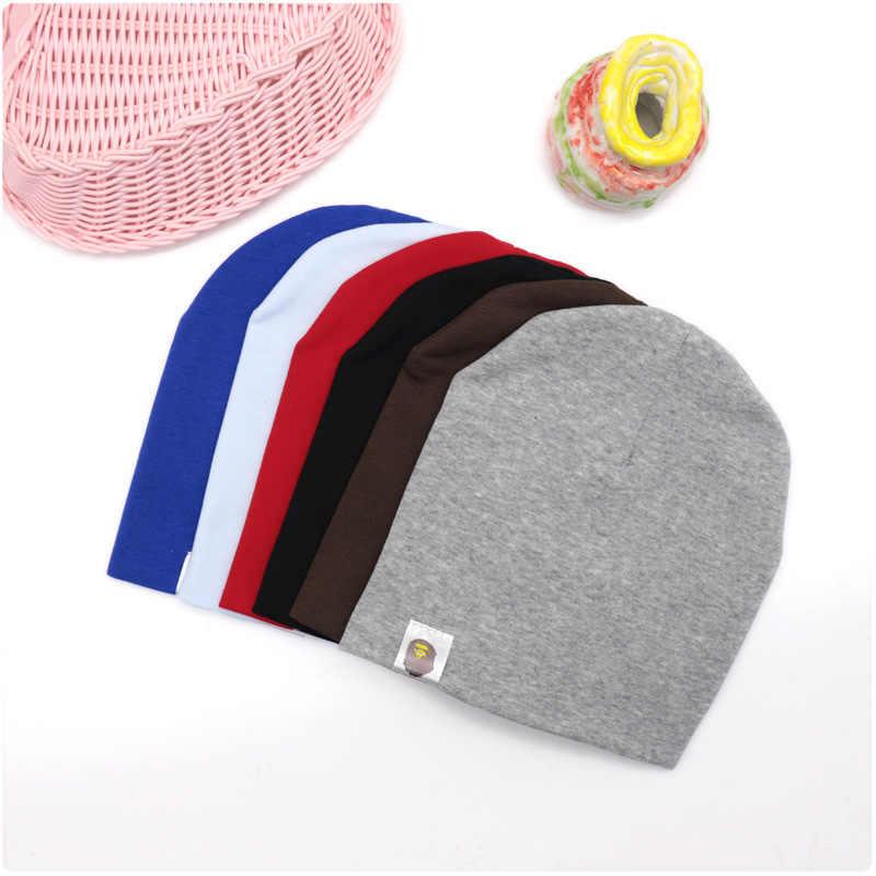 Neue Baby Street Dance Hip Hop Hut Baumwolle Frühling Herbst Kleinkind Hut Schal für Jungen Mädchen Kappe Winter Warm Solide farbe Kinder Hut