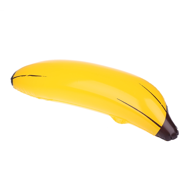 New Inflatable Big Banana Blow Up Pool Water Toy Kids Toy Kids Fruit Toy  AXYA