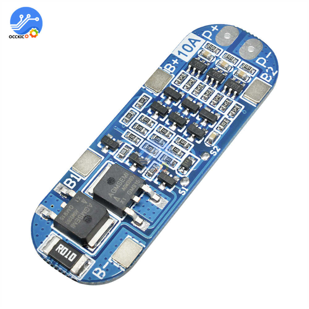 BMS 3S 10A 12.6V 18650 Li-ion Lithium Battery Charging Protection Board 18650 Power Bank Charge Balancer Equalizer Module
