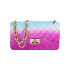 PVC Jelly Women Shoulder Bags Fashion Messenger Bag Girl Hasp Flap Ladies Crossbody Travel Small Elegant Handbag Female