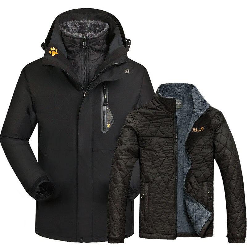 Combinaison de Ski chaude hommes femmes veste de Ski d'hiver vestes de Snowboard imperméable coupe-vent respirant neige vêtements de Ski de montagne en plein air