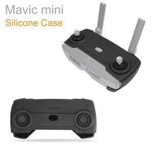 Image 1 - For Mavic mini Remote Controller Silicone protective cover Case dust proof Skin Guard For DJI Mavic mini case Accessories