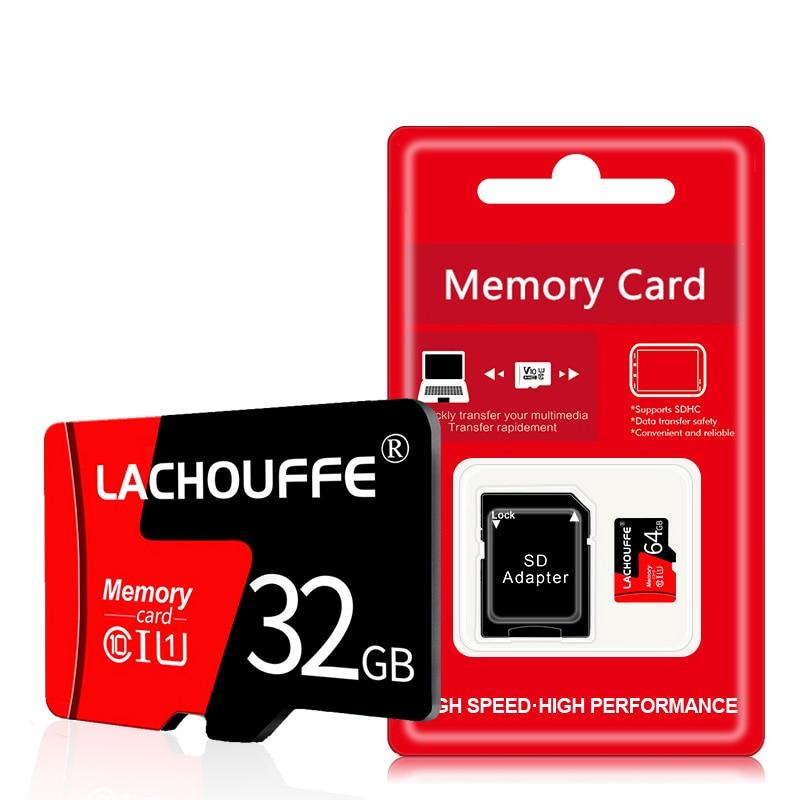 Class 10 Micro SD TF Card 32GB 64GB 128GB 4GB 8GB 16GB Flash Memory Microsd Card 8 16 32 64 128 GB For Smartphone Adapter
