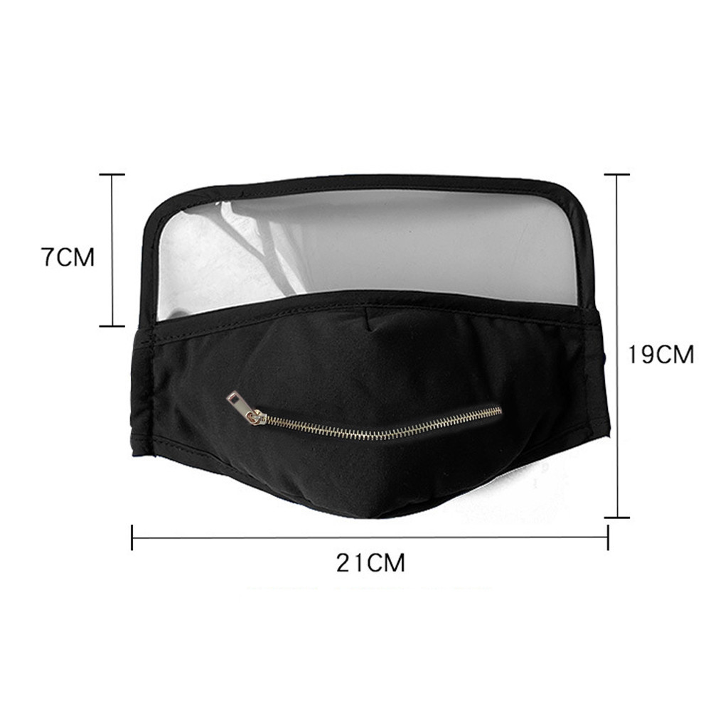 Furniture - Adult Cotton Zipper Opening Design Outdoor Protective Face Shield With Eyes Shield Face Shield Fashion Dropshipping Scarf