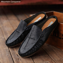 Mountain Conqueror Brand Fashion Shoes Men Soft Moccasins Loafers High Quality microfiber Flats Driving