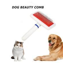 Grzebień Dla zwierząt domowych pies kot szczotka do usuwania do włosów zwierzaków poduszka powietrzna grzebienie szczotka do włosów Dla psów i kotów Mascotas Perros Dla Psa Chien Cachorro honda