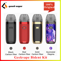 Newest GeekVape Bident pod Kit 950mah 3.5ml/2ml Electronic Cigarette AS Chip Vape Kit Dual coil system vs caliburn /frenzy pod