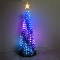 Multifunctional led copper wire tree light holiday decoration USB power supply string wedding decoration light