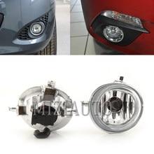 Amortecedor dianteiro nevoeiro lâmpada luz de nevoeiro para mazda 2 3 6 cx5 cx7 CX-5 CX-7 foglight com h11 lâmpadas halógenas