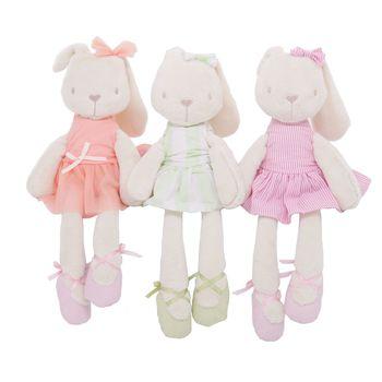 "baby toys 13 24 months for newborns rabbit plush decoration carrinho de peluches  Bed bell 18"" 10pcs/lot"