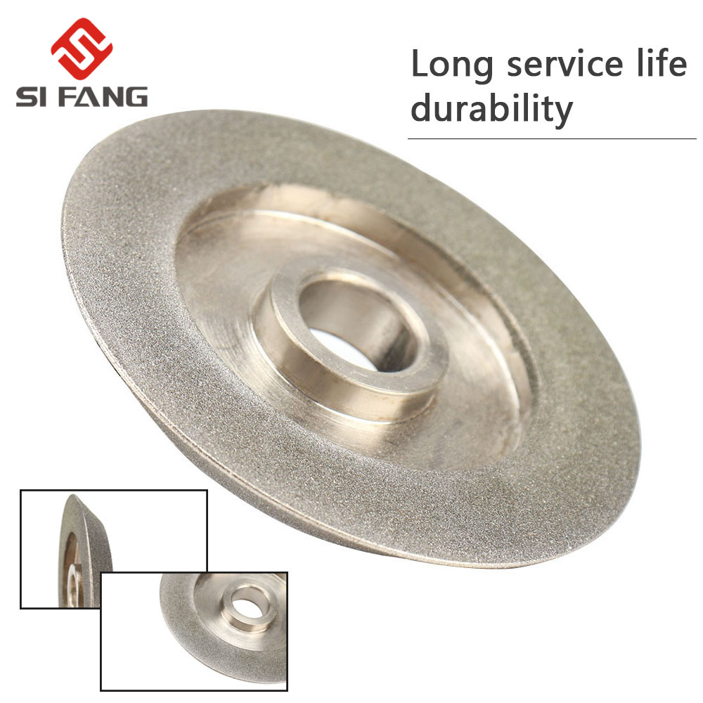 78mm Electroplating Diamond Grinding Wheel 45 Degree Angle Cutter Grinder Grinding Disc For Grinding Abrasive Cutting Tool  Gri