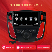 2G RAM 32G ROM Für Ford Focus 3 Mk3 9 Inch bildschirm 2012-2015 Auto Radio Multimedia video Player Navigation GPS Android 10