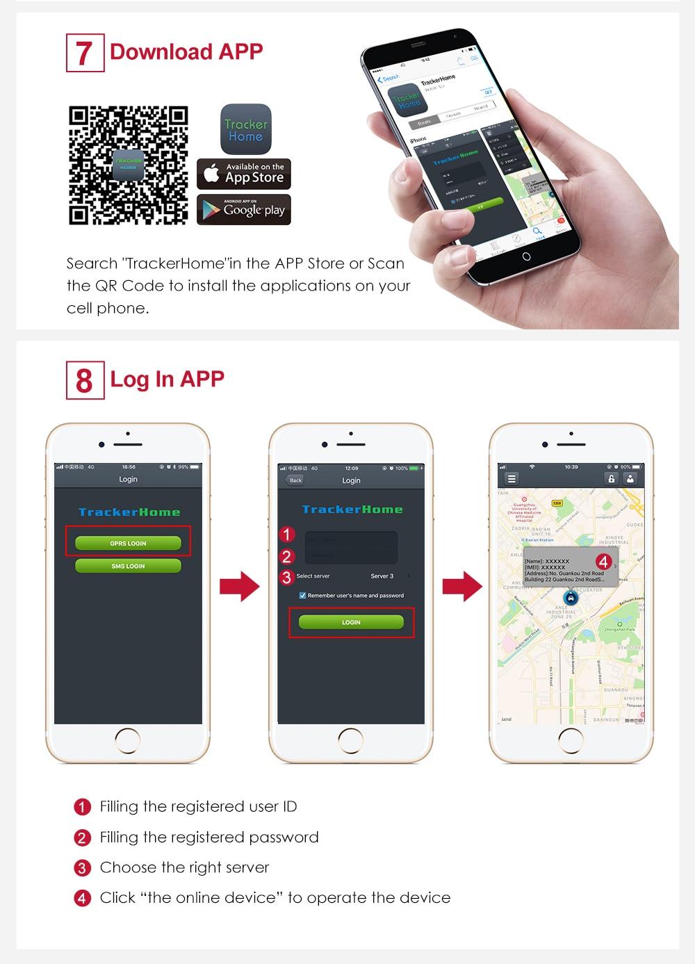 à prova dwaterproof água ip66 coban tk303g geofence livre web app