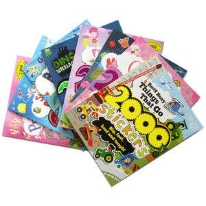 Image 3 - 2000สติกเกอร์Babหนังสือกิจกรรมเด็ก/สัตว์/เจ้าหญิง/ฟาร์ม/Alien/สติกเกอร์ฮาโลวีนสำหรับชายและสาวของขวัญของเล่น