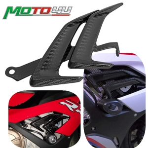 New 100% Carbon Fiber Fairing Side Panel Motorcycle Small Side Panel Gloss Accessories For BMW S1000RR S 1000RR S1000 2019 2020+