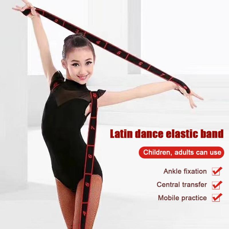 Yoga Stretch Belt Lacing Resistance Band Elastic Belt Dance Belt Workout Training Tension Belt Position Stretching Resisband