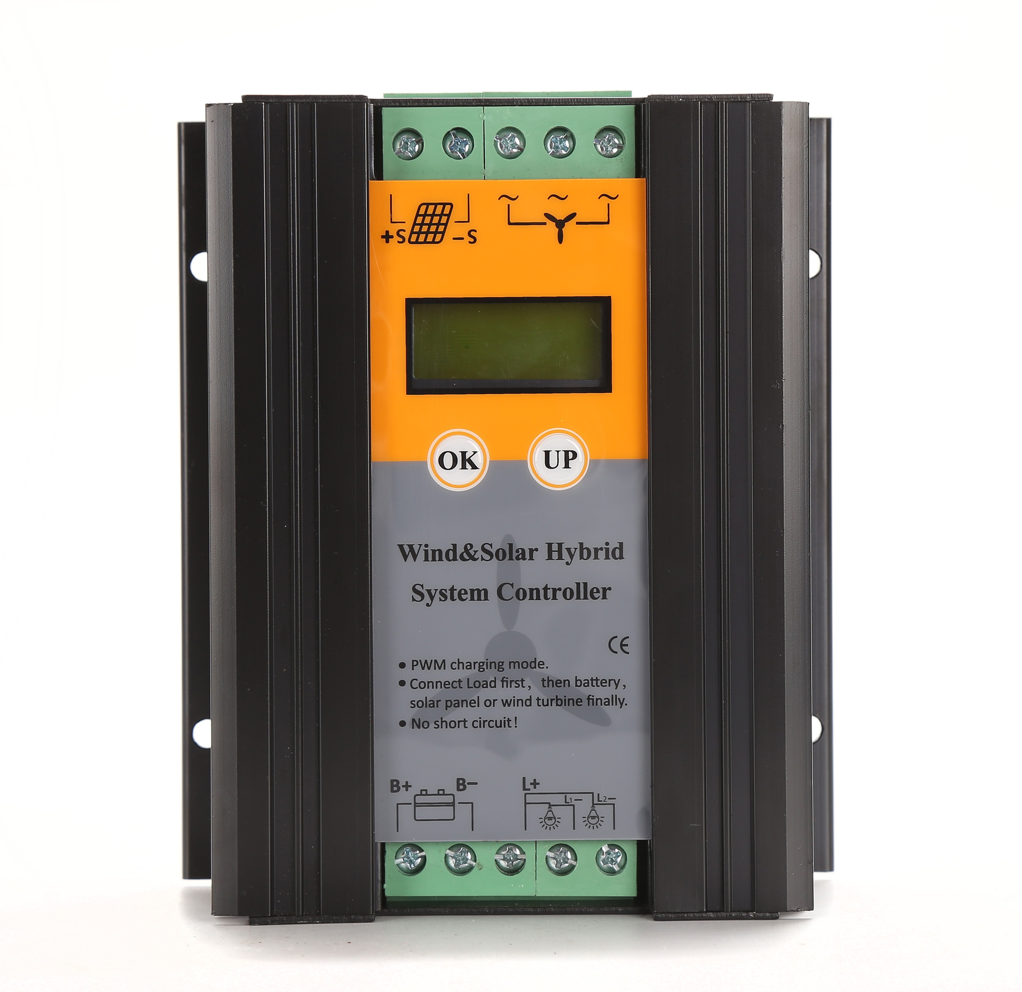 1000W PWM Wind Solar Hybrid Controller 24V Battery Regulator for Solar Panels and Wind Turbine Generator