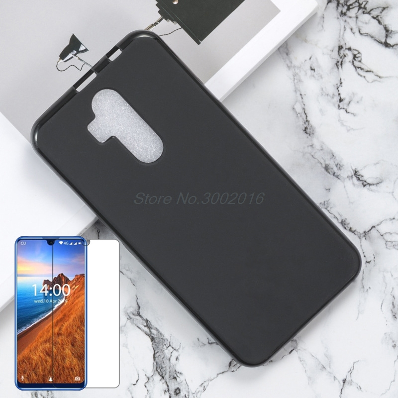 Silicone-Case Back-Cover Mobile-Phone-Accessory K9 OUKITLE 100%Original for TPU Tempered-Glass
