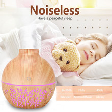 Humidifier Diffuser Led-Aroma Home for Cool-Mist-Maker Essential-Oil