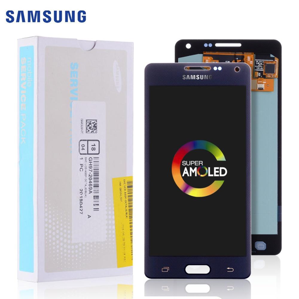Original AMOLED LCD For SAMSUNG Galaxy A5 2015 Display Touch Screen Replacement For SAMSUNG Galaxy A5 A500FU A500 A500F A500M