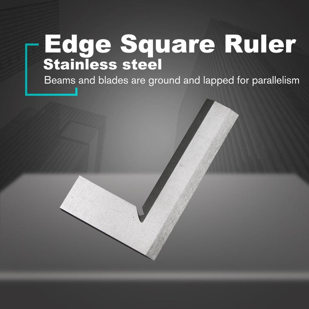 Engineers Square Ground Steel Set Framing Machinist Square Right Angle 90 Degree