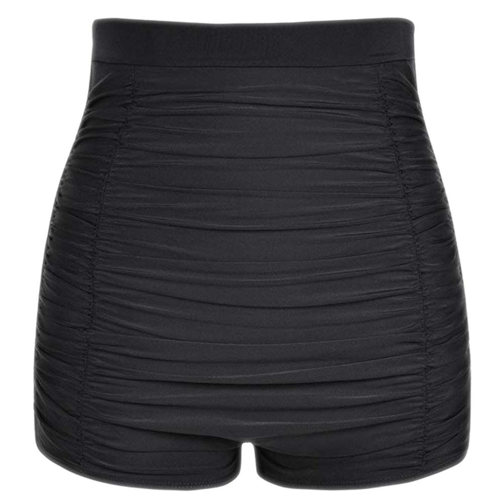 Women Plus Size High Waist Bikini Bottoms Swim Briefs Summer Sexy Beach Shorts Ruched Bottom Swimming Clothing 2020 New