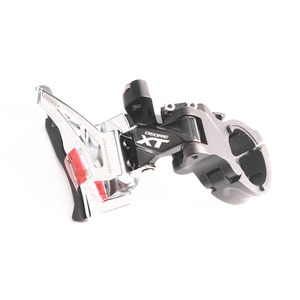 Image 5 - Shimano Deore XT FD M8025 2x11 سرعة الدراجة الجبلية الجبهة Derailleur عالية المشبك المزدوج سحب
