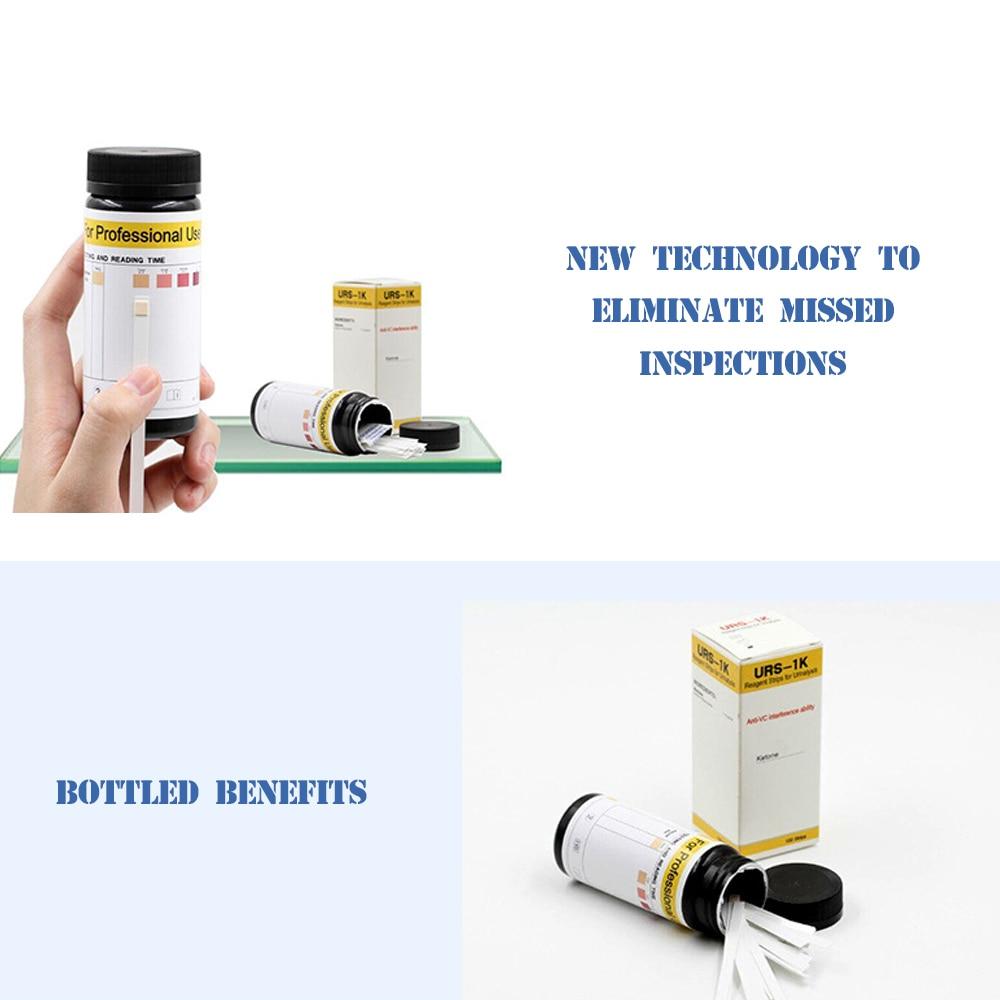 50/100PCS Ketone Strips Home Ketosis Urine Urinary Test-Atkins Diet Weight Lose Analysis Keto Strip Healthy Diet Body Test Paper