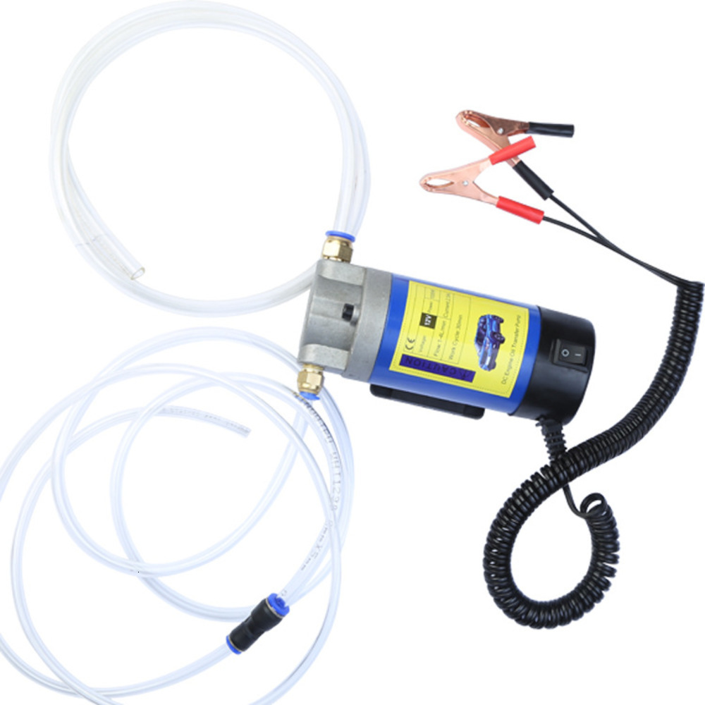 High Quality 12V Electric Scavenge Suction Transfer Change Pump 12V Motor Oil Diesel Extractor Pump100W 4L For Car