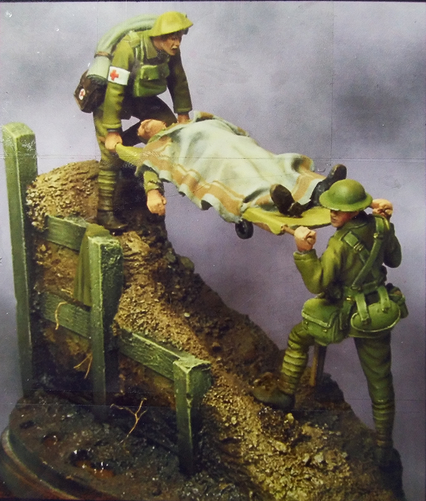 1/32 54mm   Ancient  Officer Include 3 Man (WITH BASE ) Resin Figure Model Kits Miniature Gk Unassembly Unpainted