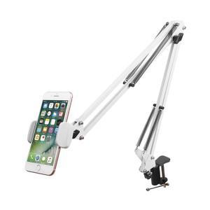 Image 5 - Faltbare Einstellbare Flexible 360 Rotierenden Langen Arme Handy Halter Desktop Bett Faul Halterung Telefon Stehen für iphone Tablet