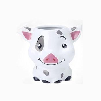 250ml Disney 3D Cartoon Pig Water Cup kawa herbata mleczna kubek ceramiczny Home Office kolekcja kubki upominki świąteczne tanie i dobre opinie