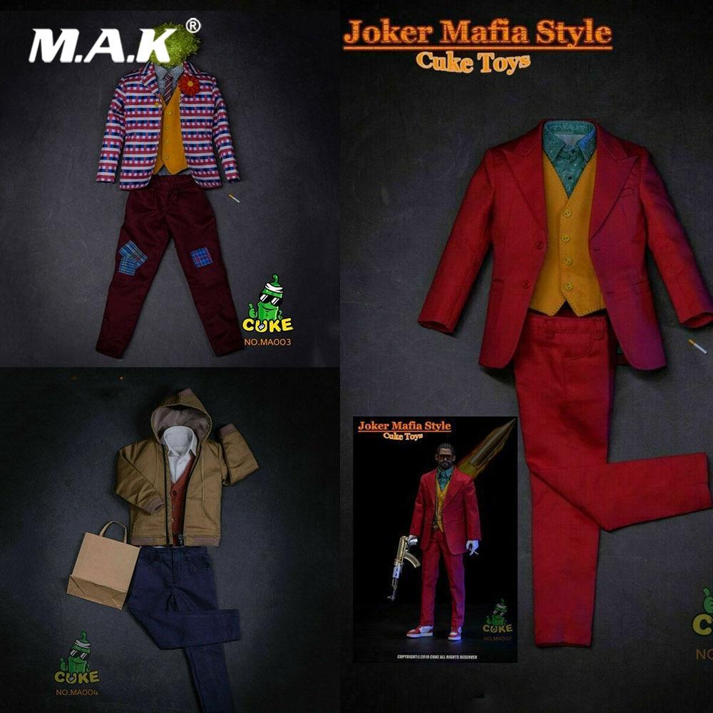 CUKE TOYS MA-002/MA-003/MA-004 1/6 Scale Figure Clothes Accessory The Joker Joaquin Casual Costume Suit Model For 12'' Action
