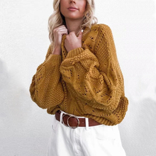KIYUMI Sweater Pullover Women Woven Fringed Sweater Long Sleeve O-neck Hollow Out Casual 2019 Two-tone Autumn Winter Sweater New цена в Москве и Питере