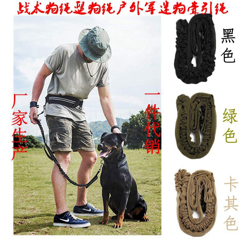 Hot Selling Outdoor Dog Training Stretching Dog Leash Training Dog Rope Leash Outdoor Dog Leash Dog Traction Rope Dog Leash Sub-