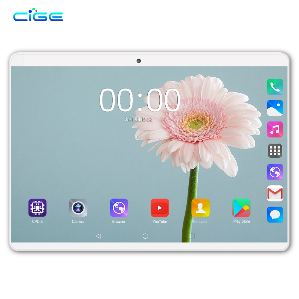 2019 Fast Shipping Android 8.0 Tablet PC Pad 10 Inch IPS 8 Core 6GB RAM 64GB ROM Dual SIM Card Phone Call Tablets 10.1