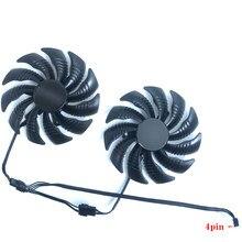 88mm t129215su pld09210s12hh ventilador de refrigeração para gigabyte geforce gtx 1050 ti rx 480 470 gtx 1060 g1 placa gráfica v