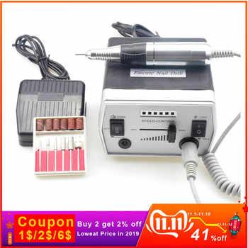 Electric Nail Drill Machine 35000RPM Pro Diamond Nail Cutter Bit Pedicure Maniure Machine Nail Drill Bits Nail Polisher Tool - DISCOUNT ITEM  37% OFF All Category