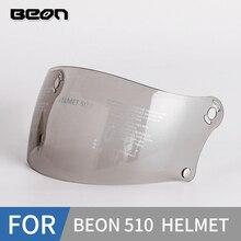 Beon b510ヘルメットバイザー,UV交換シールド,B510フルフェイスヘルメットレンズに適しています