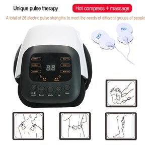Image 5 - 1pcs Smart Massager Ginocchio Sollievo Dal Dolore Gamba Massaggio Reumatica Strumento A Raggi Infrarossi Terapia di Vibrazione Riscaldato Artrosi Shiatsu