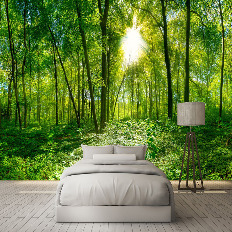 Custom-3D-Photo-Wallpaper-3D-Stereoscopic-Space-Green-Forest-Trees-Nature-Landscape-Large-Mural-Wallpaper-For (2)